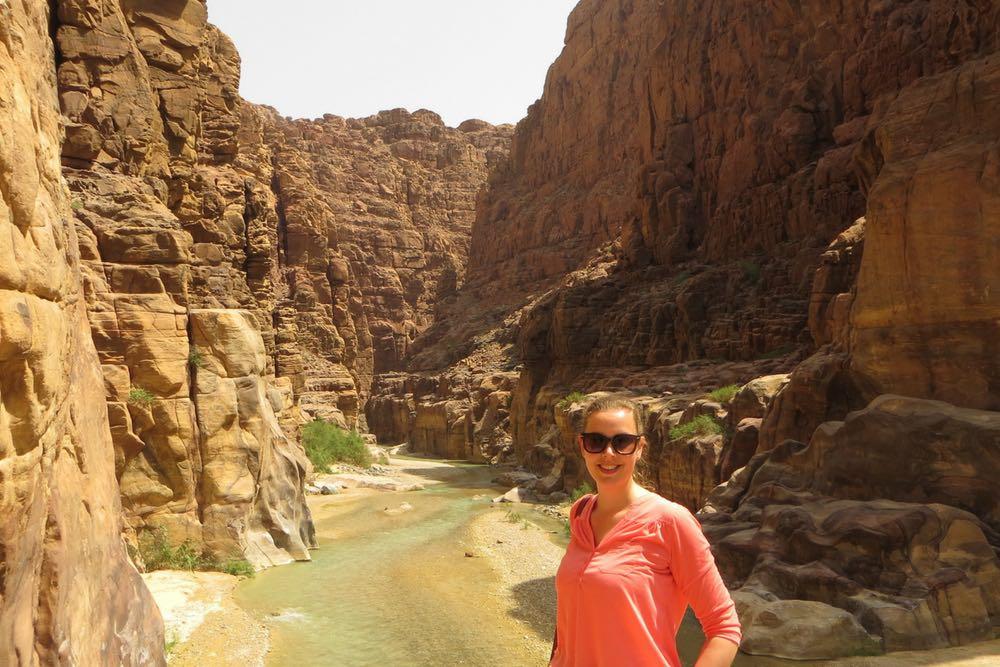Jordanien Reisen Wadi Miujib