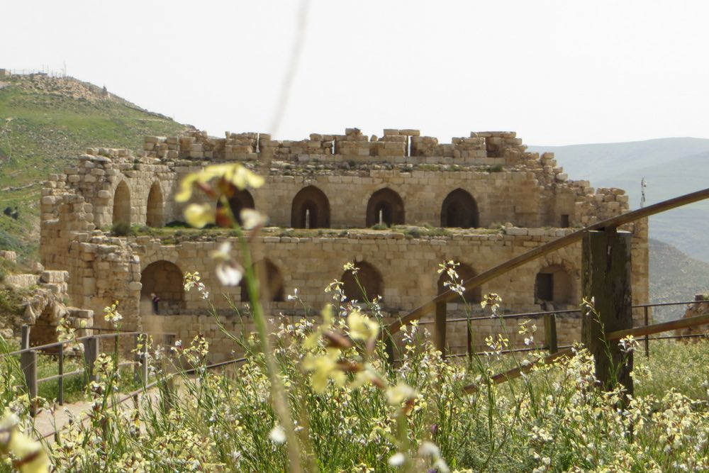 Jordanien Rundreise Karak Burg