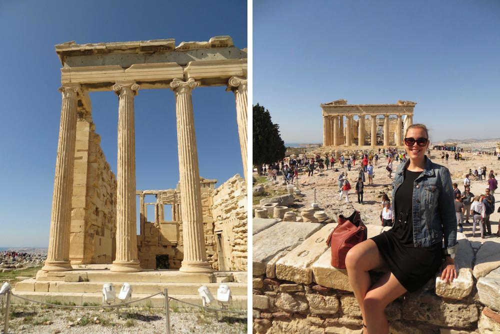 Athen Akropolis Parthenon