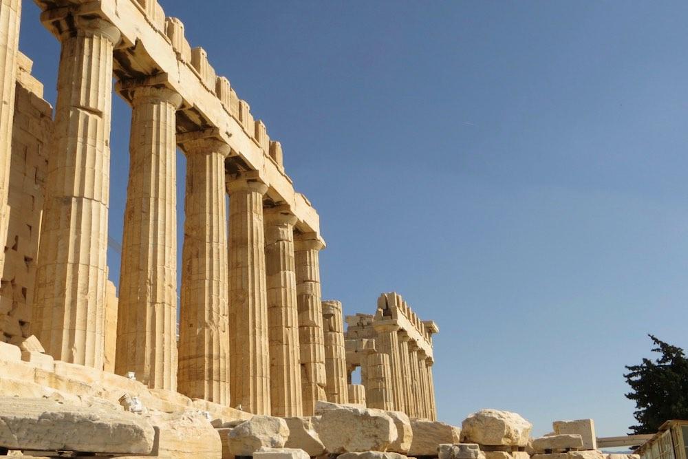 Athen Sehenswürdigkeiten Parthenon