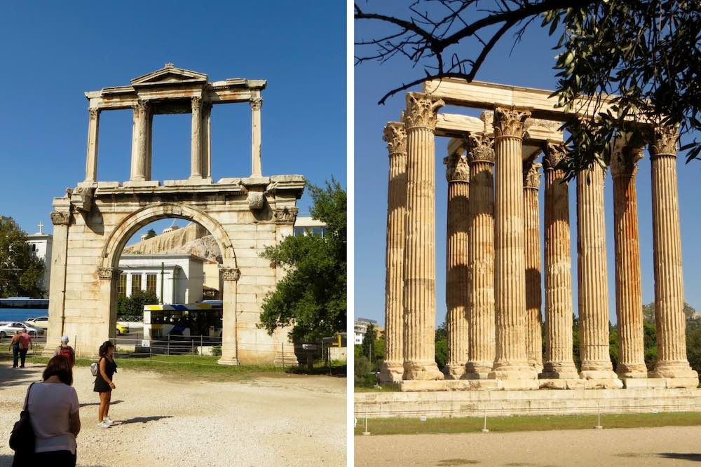 Athen Sehenswürdigkeiten Olympieion