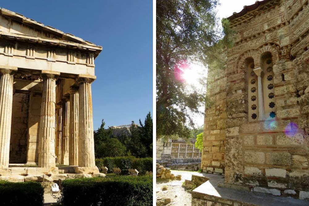 Athen Städtetrip griechische Agora