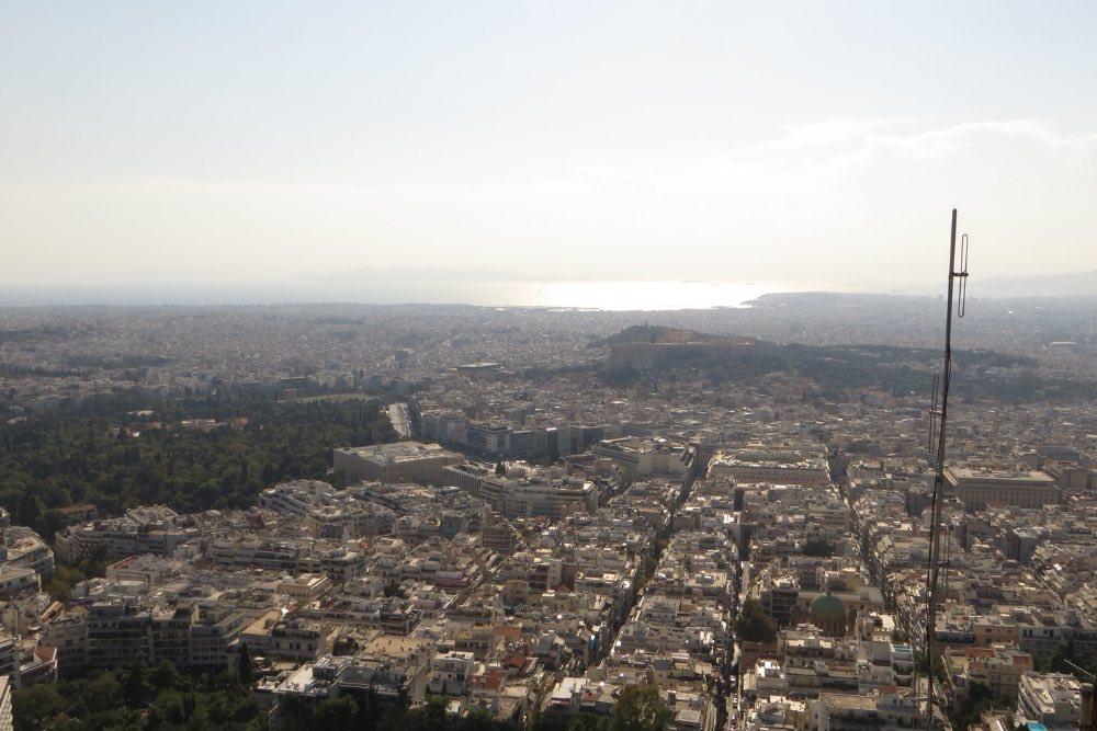 Aussicht Lykabettos Athen