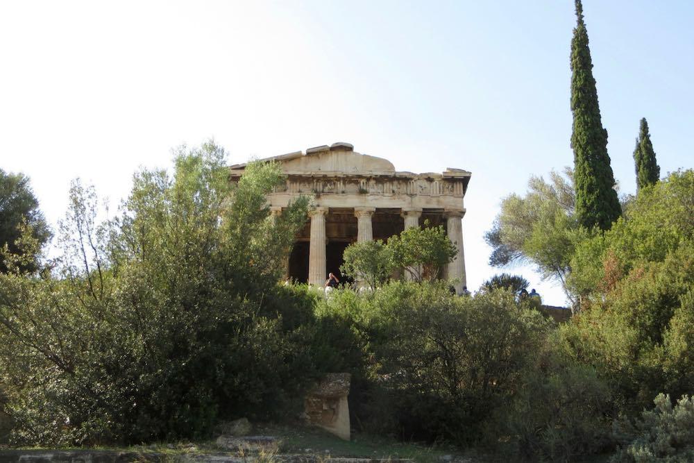 Hephaisteion Tempel Athen