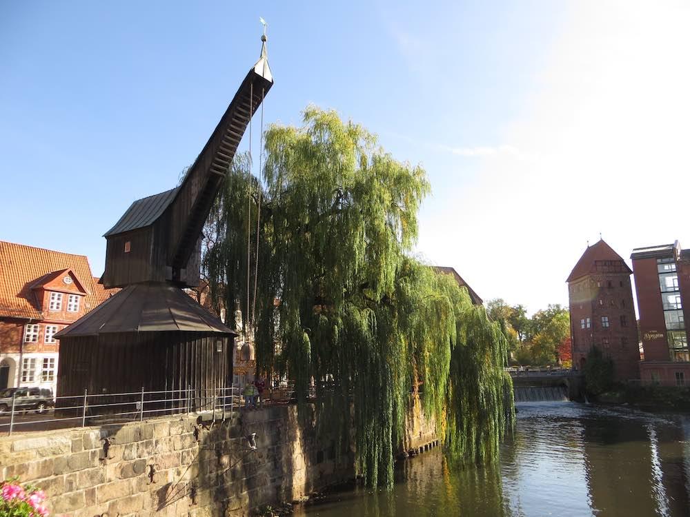 Lueneburg Sehenswuerdigkeiten Alter Kran