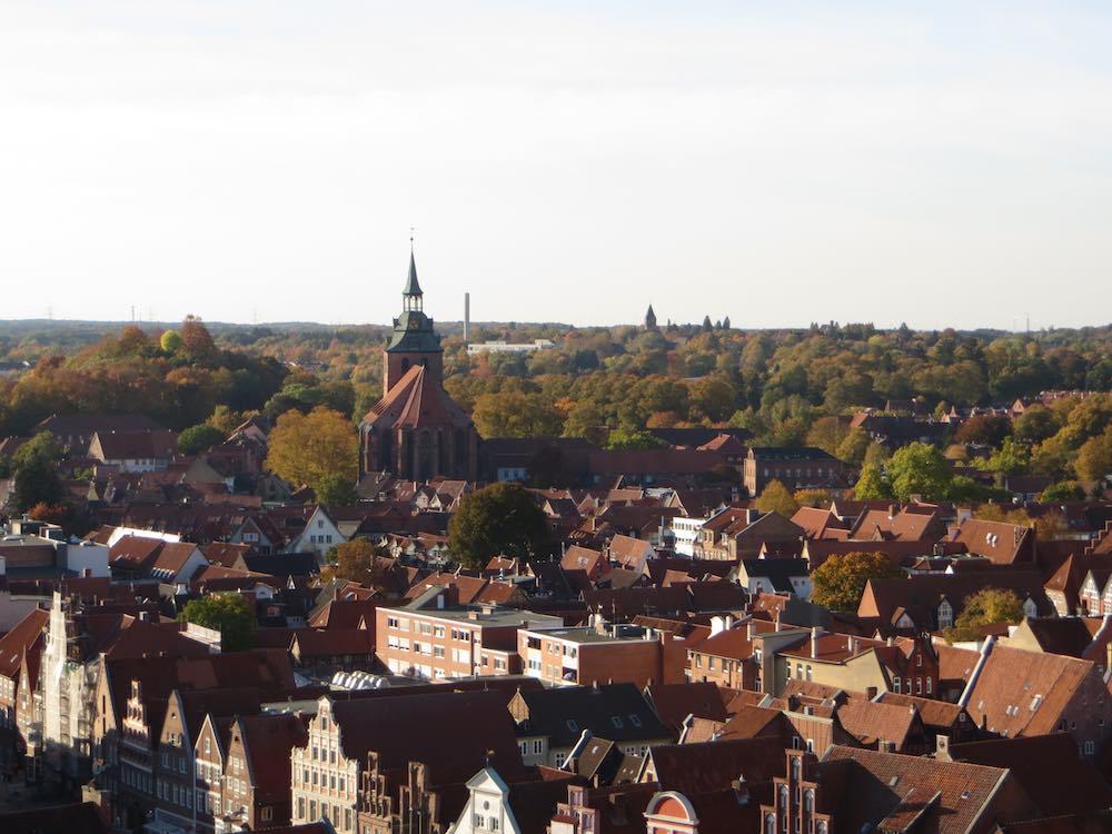 Lüneburg Wasserturm Aussicht
