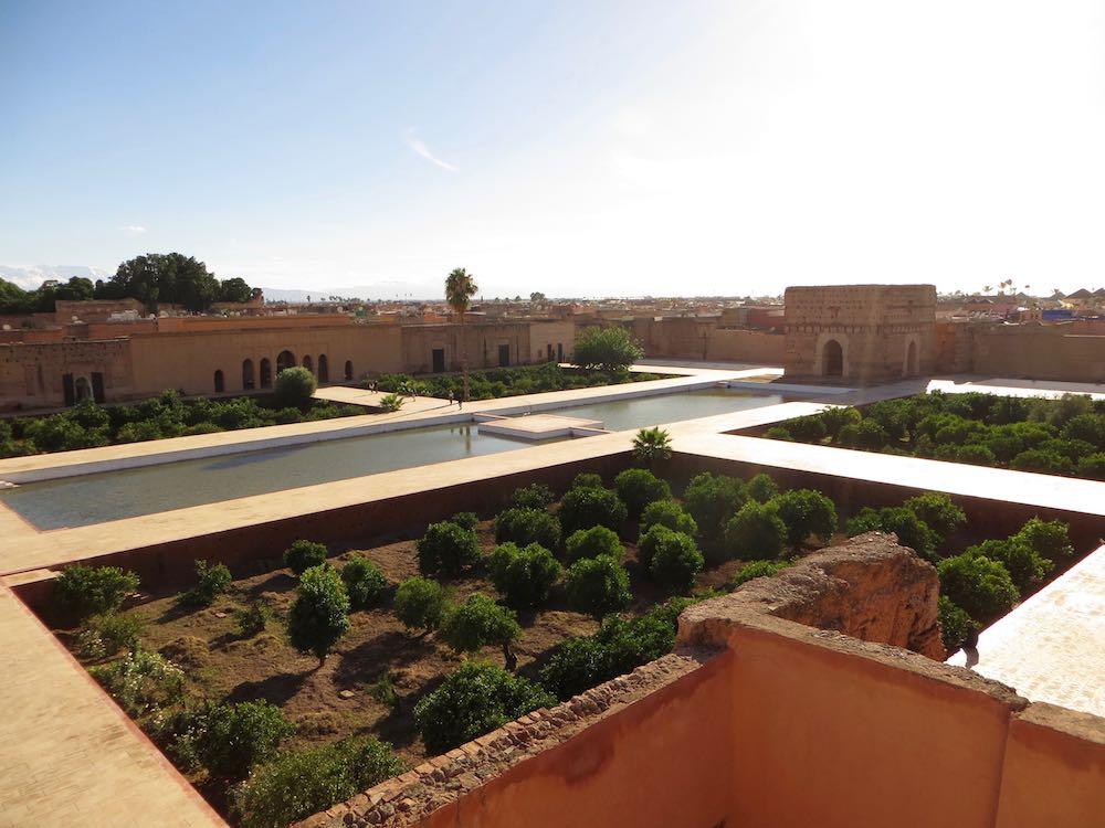 Marrakesch Sehenswürdigkeiten El Badi