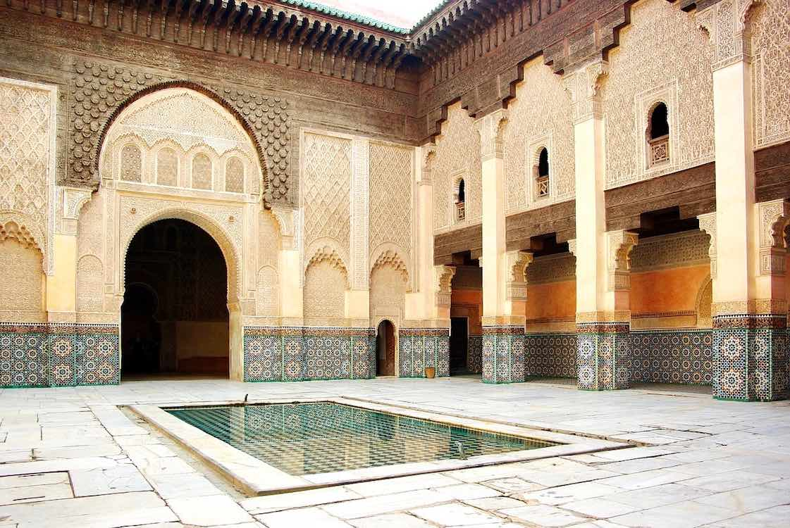 Medersa Ben Youssef Marrakesch Marokko