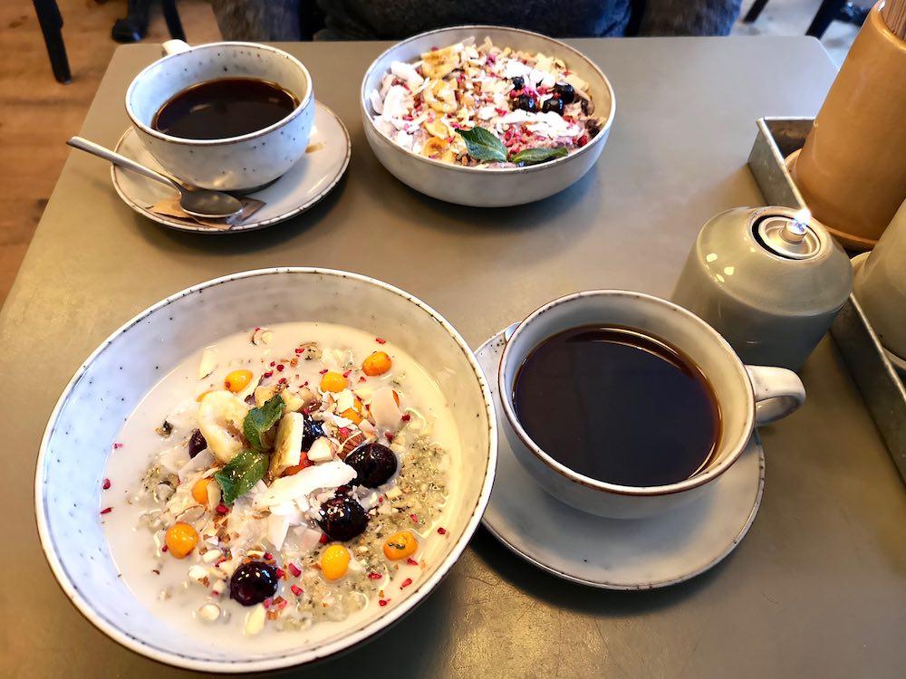 Frühstücken in Kopenhagen