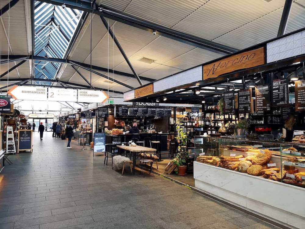 Torvehallerne Essen in Kopenhagen