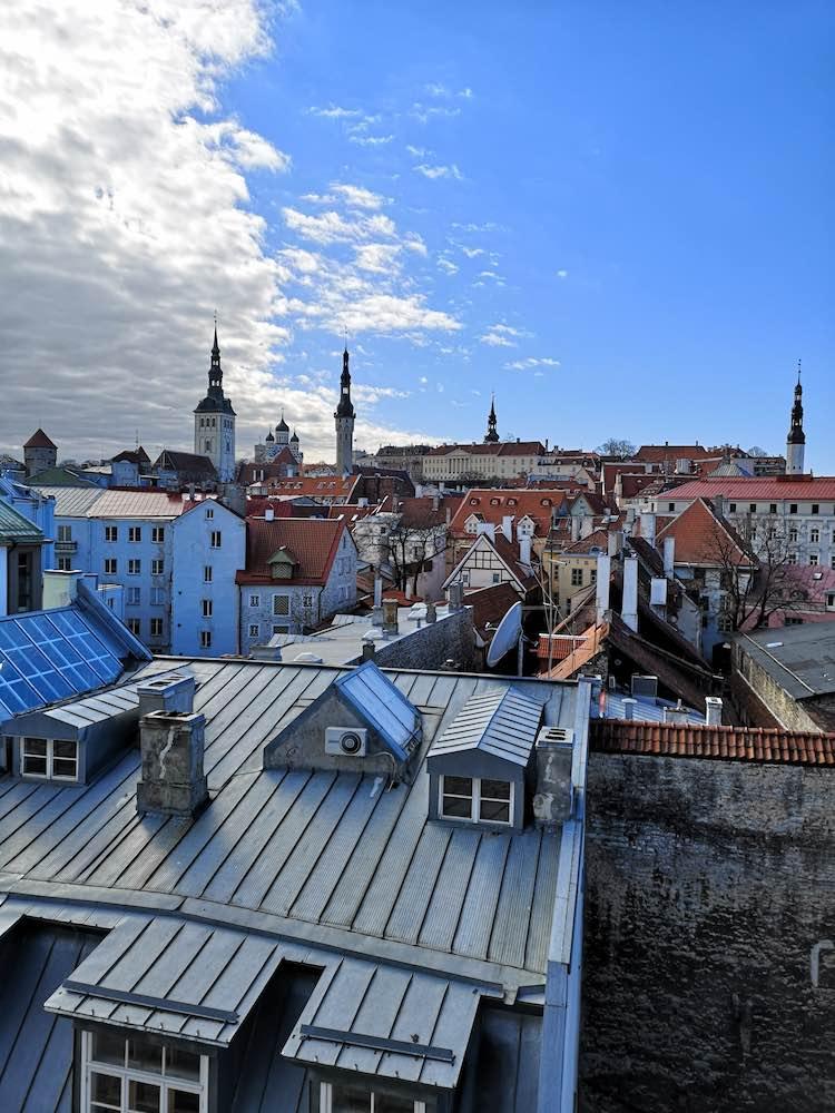 Ausblick Stadtmauer Tallinn
