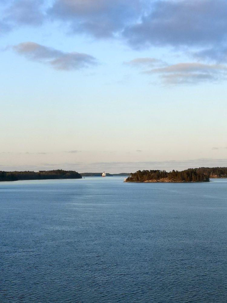 Aussicht Fähre Stockholm Helsinki