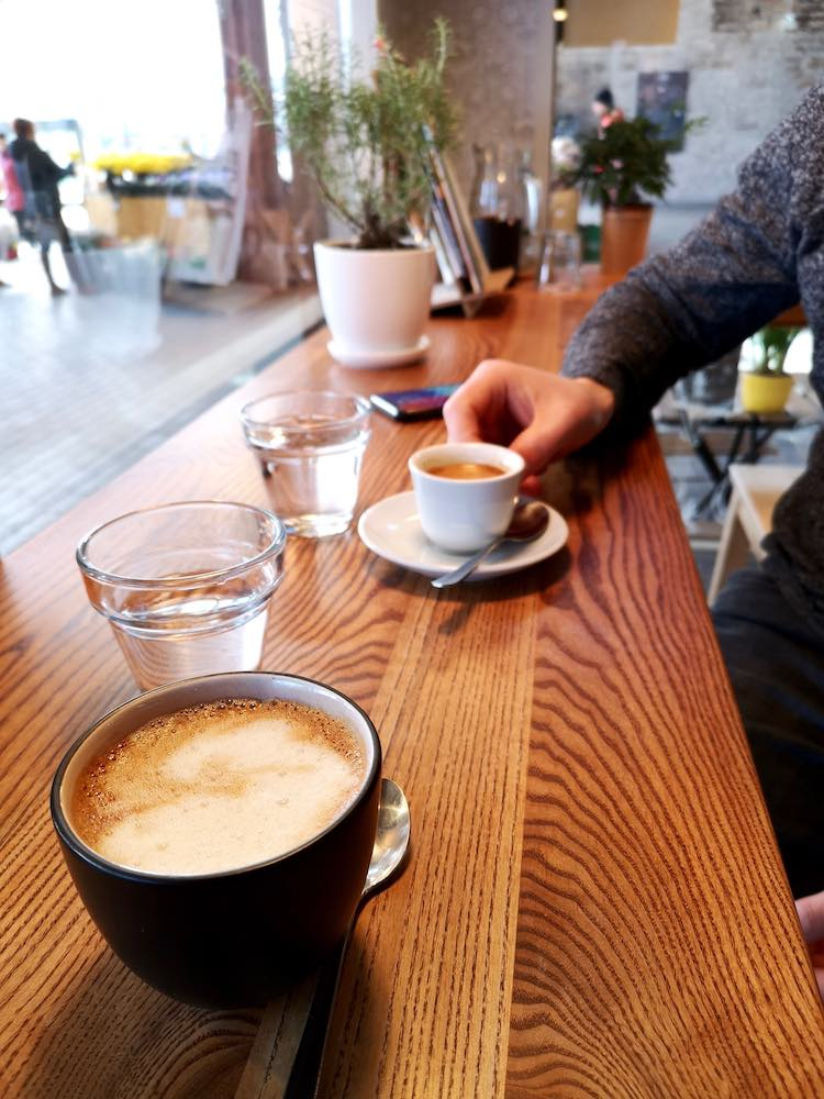 Kaffee in Tallinn