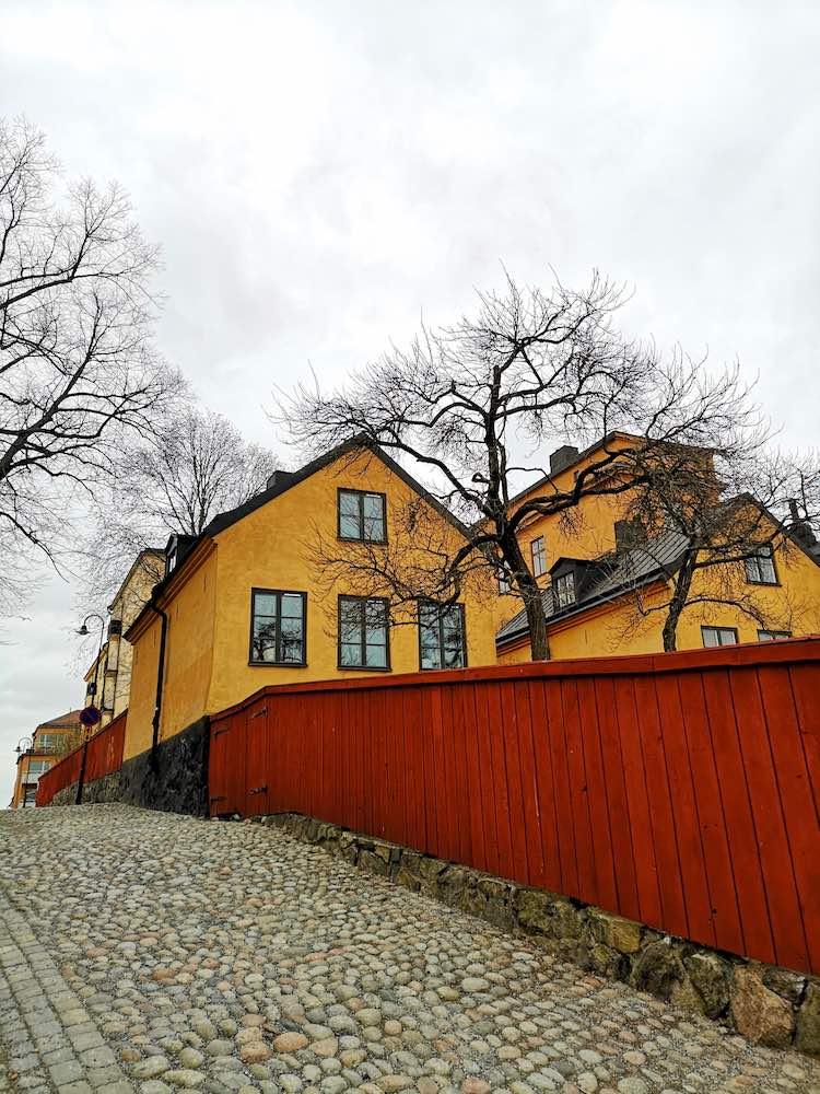 Schwedenhäuser bei Mariaberget