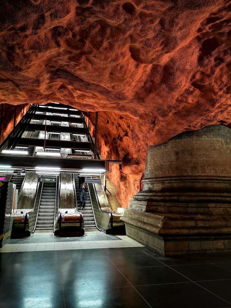 Stockholm Sehenswürdigkeiten U-Bahn Stationen