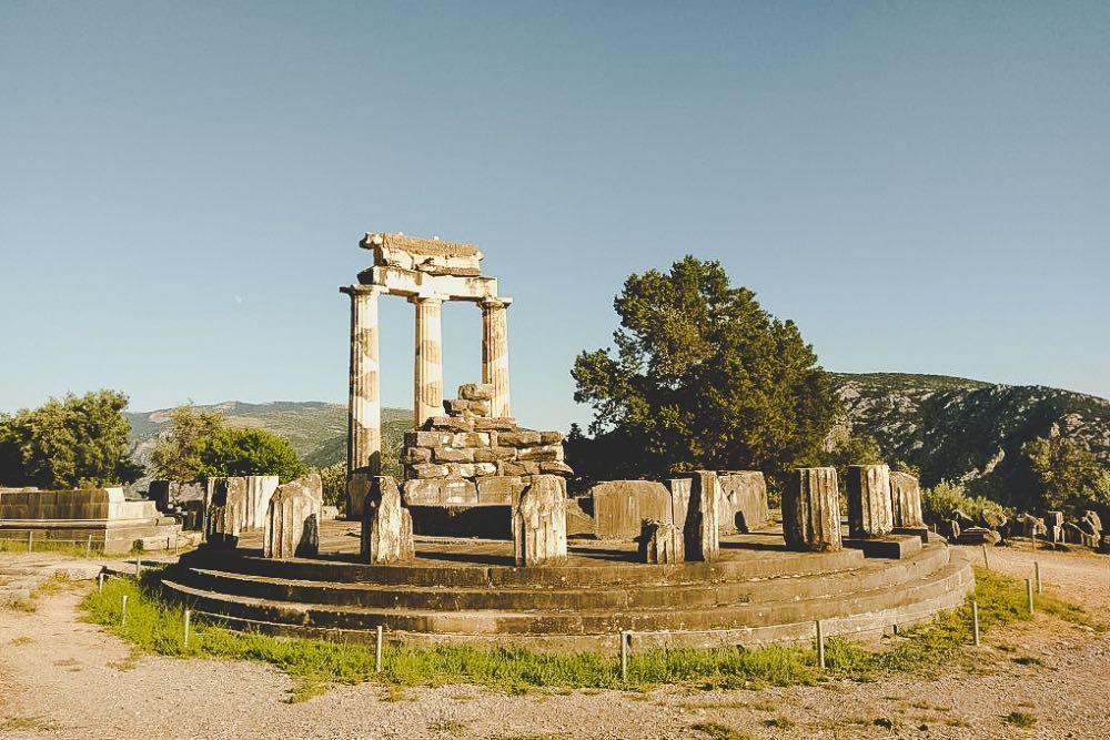 Delphi als Urlaubsort