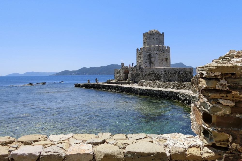 Methoni in der Westpeloponnes