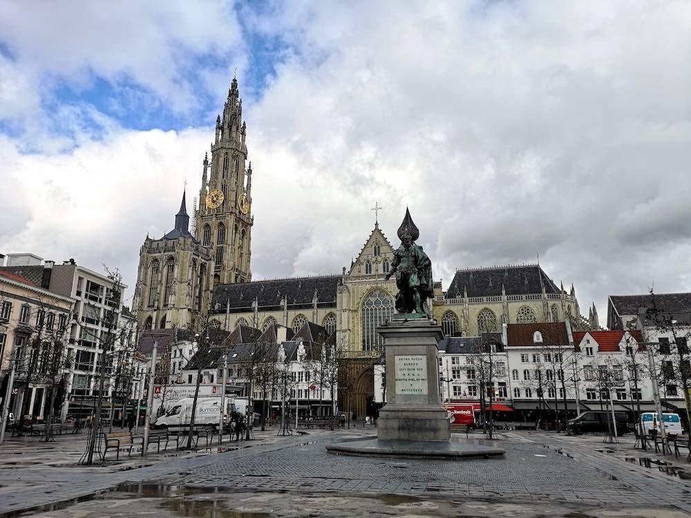 Groenplaats in Antwerpen