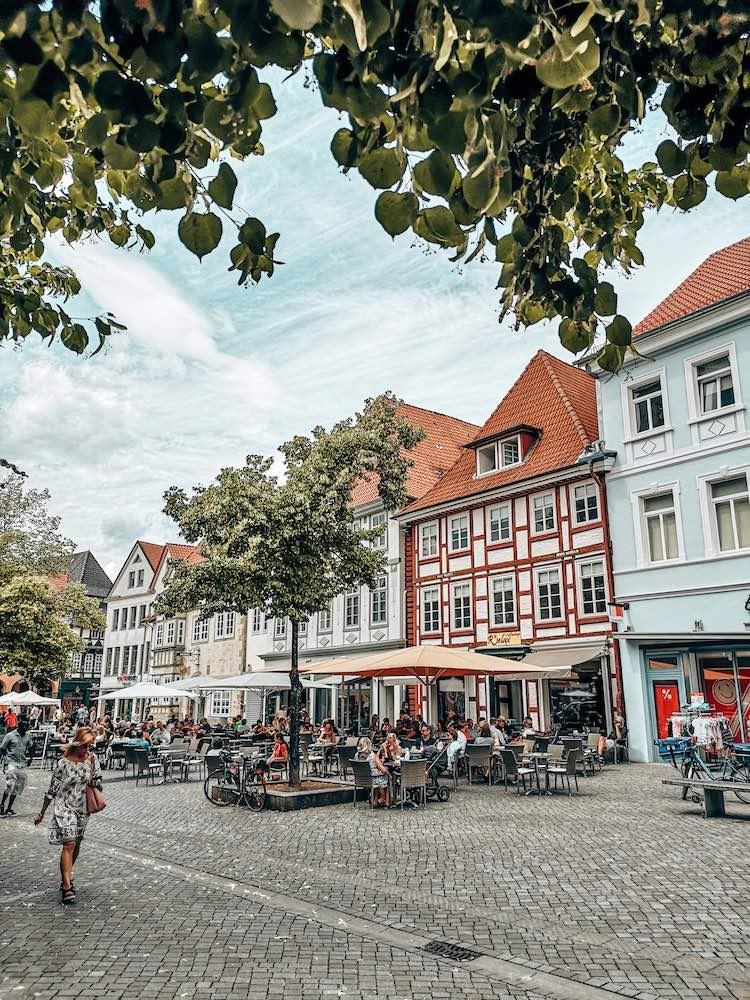 Pferdemarkt Hameln Cafés