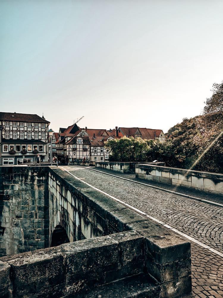Alte Werrabrücke Hann. Münden Sehenswürdigkeiten