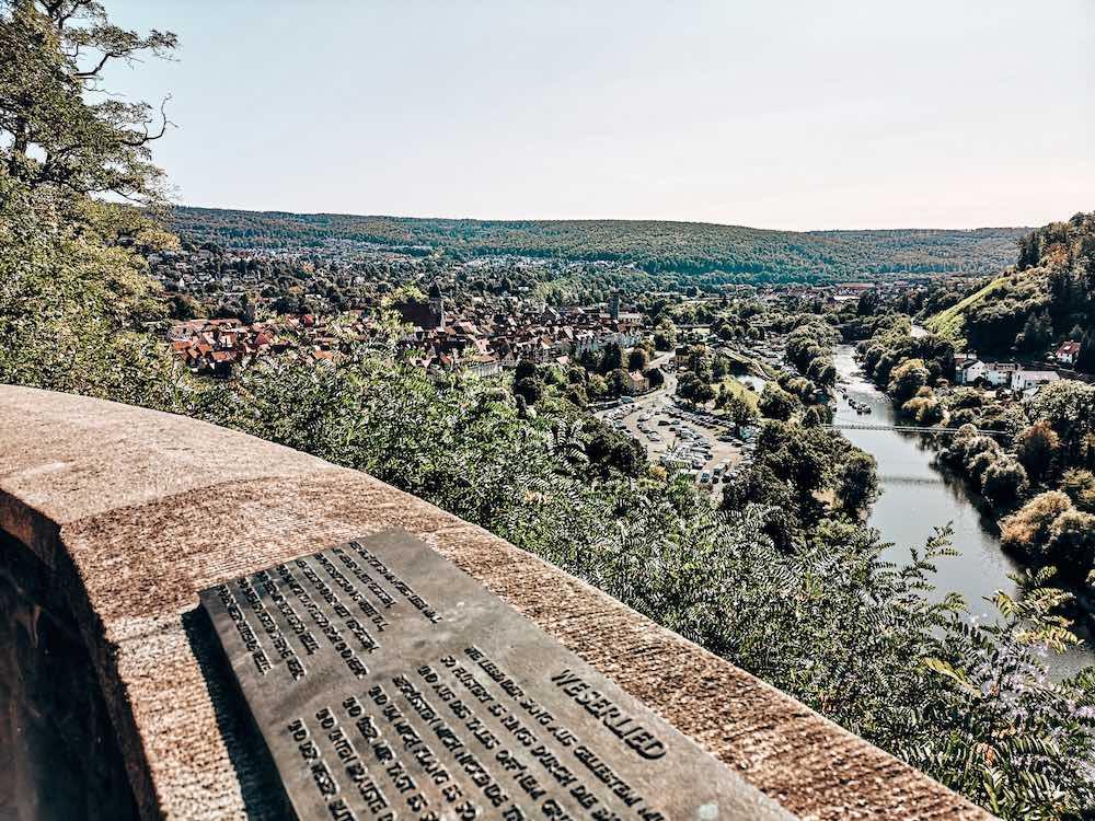 Aussicht Weserliedanlage
