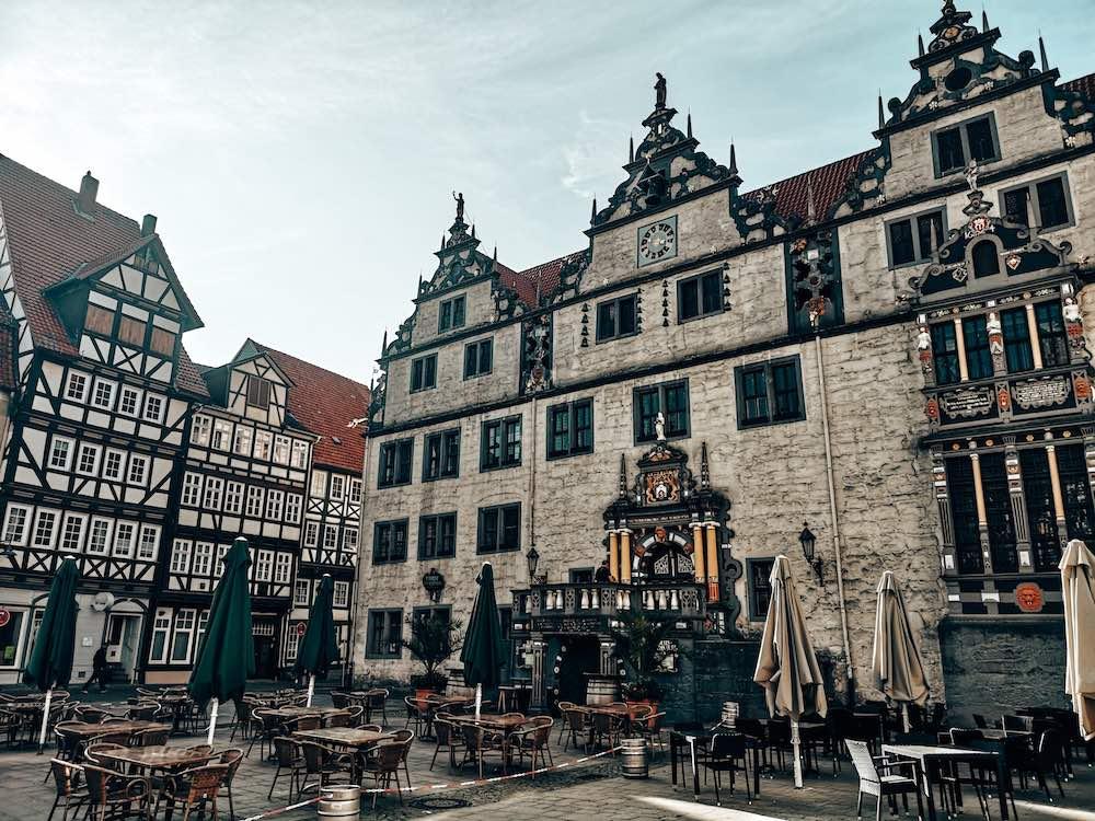 Rathaus Hann. Münden Sehenswürdigkeiten
