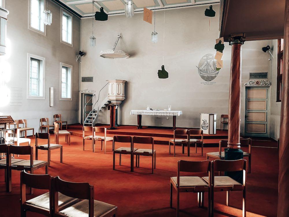 Reformierte Kirche von innen