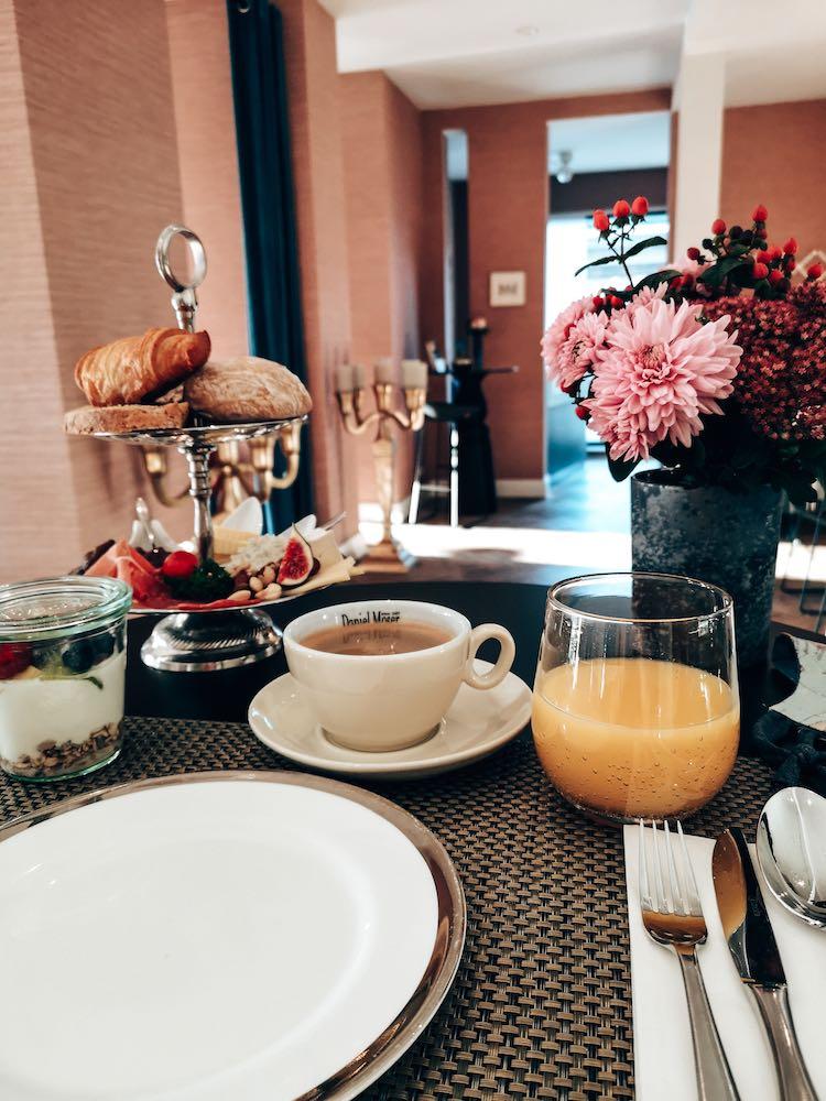 Frühstück im Hotel Rosenbohm