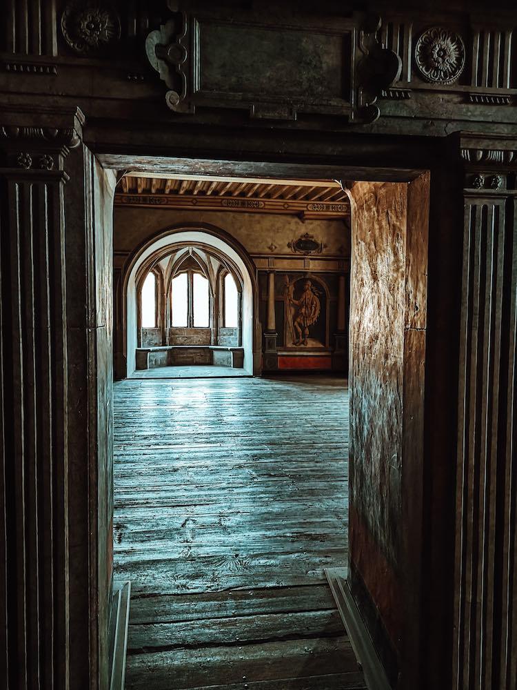 Hannoversch Münden Sehenswürdigkeiten Eingang Schlossgemächer