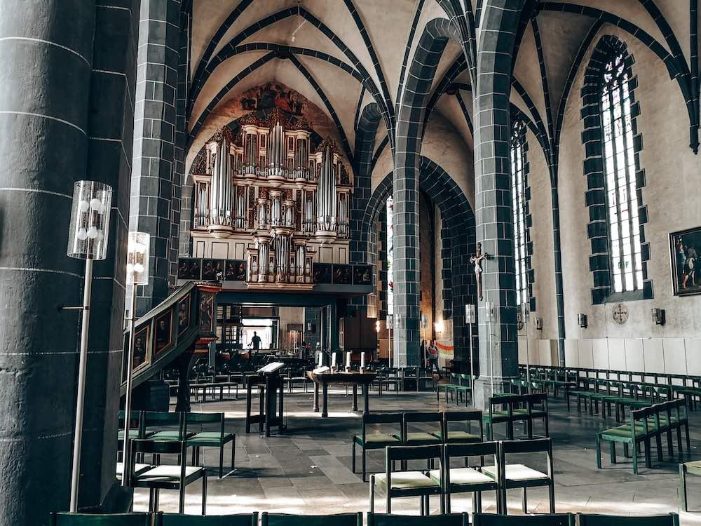 St. Blasius Kirche von innen