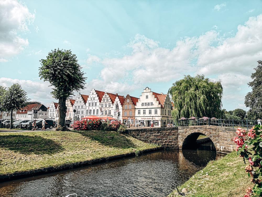 Ansicht von Friedrichstadt