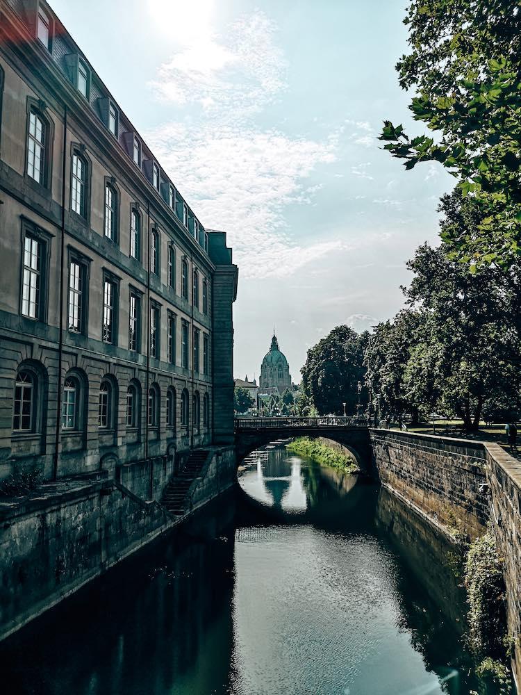 Landtag Blick Rückseite