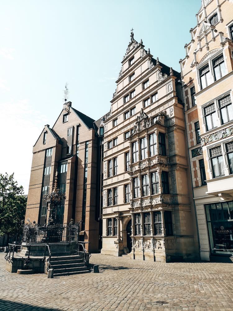 Hannover Sehenswürdigkeiten Leibniz Haus