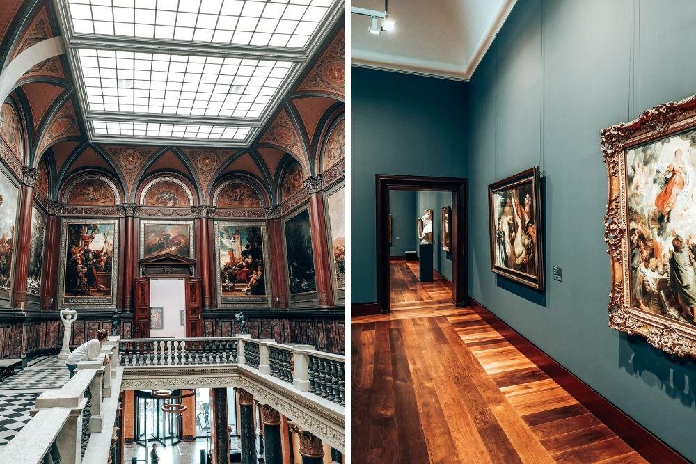 Hamburger Kunsthalle von innen