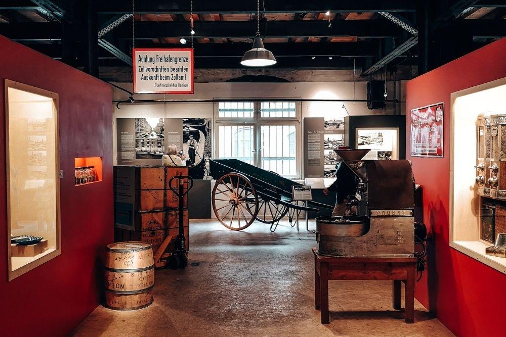 Speicherstadtmuseum innen
